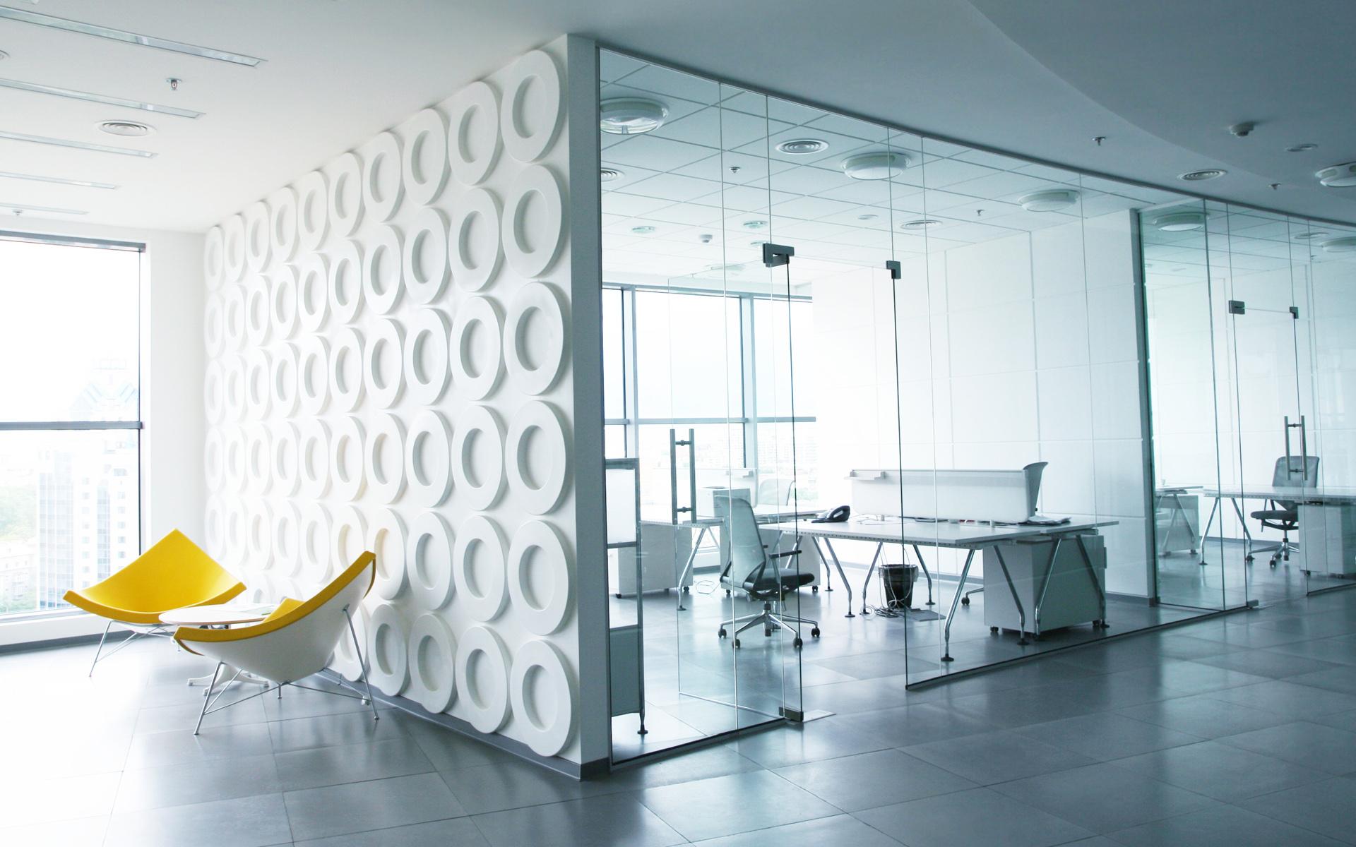 Дизайн интерьеров перегородки