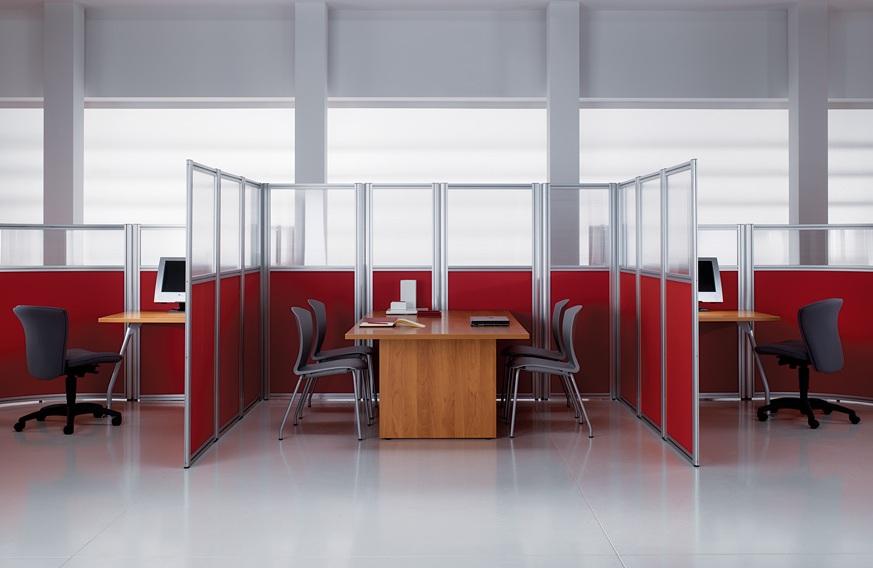 Мобильные перегородки. Тип Small office.