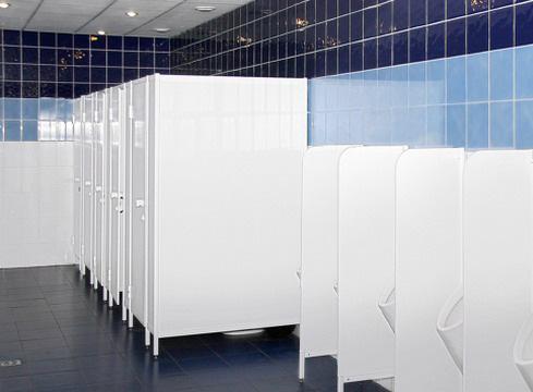Система сантехнических перегородок