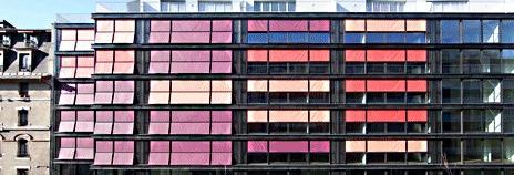 Внешние шторы солнцезащитные