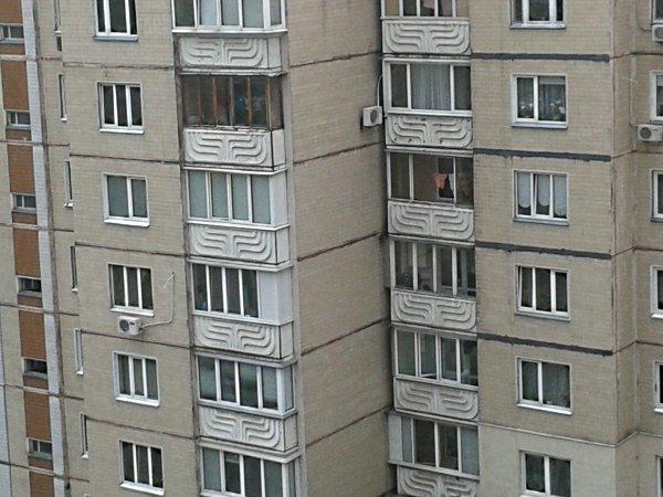 Балкон без штор