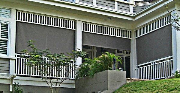Балкон и шторы